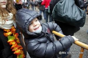 Nolan heureux d'être au carnaval