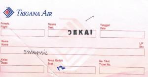 Billet d'avion Jayapura-Dekai