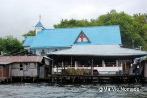 Lac Santani église