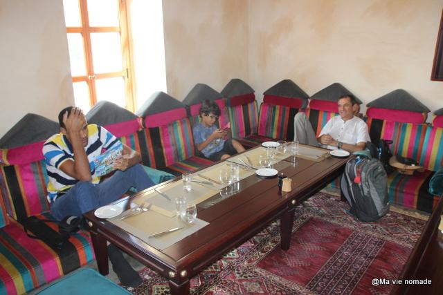 Intérieur du restaurant Bait Al Luban