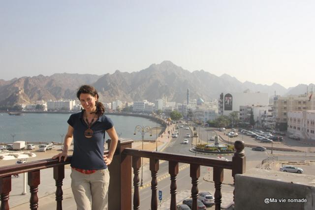 Vue depuis la terrasse du Bait Al Luban