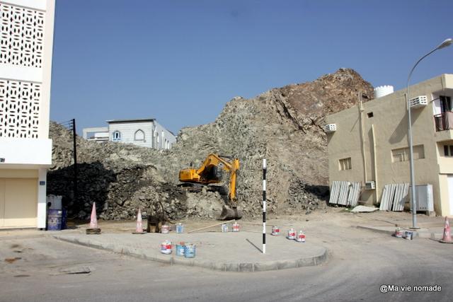 travaux à Mutrah