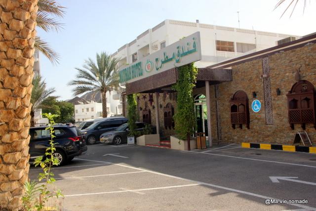 Devanture du Mutrah Hotel